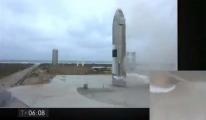 #SpaceX  patlamadan dikey iniş gerçekleştirebildi(video)