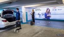 Stuttgart  Havaalanı,sürücüsüz park etmeye hazırlanıyor