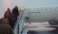 Stuttgart Havalimanı'nda uçak boşaltıldı
