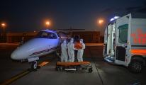 Sudan'dan ambulans uçakla Türkiye'ye getirildi