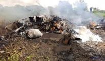 Sudan'da uçak kazası: 7 ölü (video)