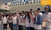 SunExpress ile çocukların hayalleri gerçek oldu!video