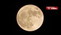Süper Ay İstanbul'da görüldü video