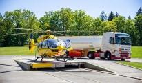 Sürdürülebilir havacılık yakıtı ile uçan ilk kurtarma helikopteri