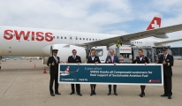 Sürdürülebilir havacılık yakıtıyla İsviçre'den uçan ilk ticari havayolu