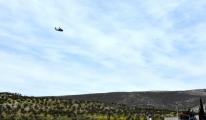Suriye sınırında askeri helikopter hareketliliği!