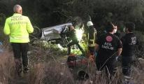 Takla atan otomobil sürücüsü öldü