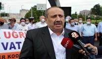 Taksicilerden 240 araçlık Milli Birlik Konvoyu