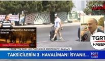 Taksicilerin 3. Havalimanı İsyanı!video