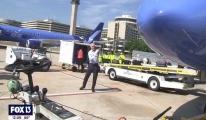 Tampa'daki Breeze Airways için açılış uçuşu#video