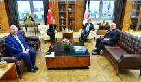 TAV'dan Ticaret Bakanı Mehmet Muş'u ziyaret
