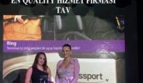 TAV Passport Kart, 'En Kaliteli Hizmet' Ödülü Aldı