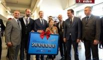 TAV'dan 2 milyonuncu yolcuya sürpriz karşılama!