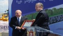 TAV,Tiflis Havalimanı'nda Yeni Terminalin Temelini Attı