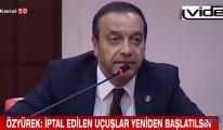 TBMM'den Türk Hava Yollarına seslendi!video