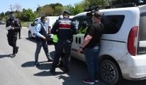 #Tekirdağ'da sürücülere, 'e-Devlet izin belgesi'video
