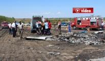 Tekirdağ'daki uçak kazası