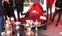 TEKNOFEST'in şampiyonları Trabzon'da #video