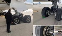 Tel Aviv Ben Gurion Havalimanı'nda ilginç kaza