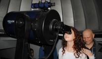 Teleskopla Venüs ve Jüpiter'in Yakınlaşmasını  İzlediler