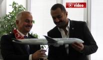 Temel Kotil, Hava-İş Sendikası'nı ziyaret etti.video