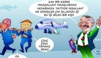 Temel Kotil,TUSAŞ'ın ciro hedefi 10 milyar dolar.