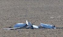 Test Uçuşu Yapan ANKA Düştü