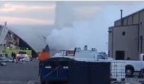 Textron Havacılık tesisinde patlama
