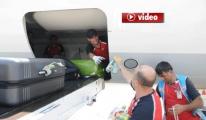 TGS İşçileri Uçakların Altında Serinledi video