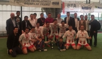TGS turnuvada şampiyon oldu!