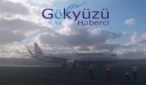 THY'nin bugün ilk uçağı 3. Havalimanı'na  indi!video