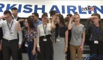 THY 500 hostese işaret dili eğitim verdi!VİDEO
