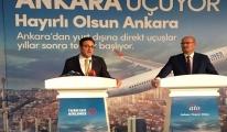 THY, Ankara'dan Yurtdışına Direkt Uçuşlara Yeniden Başlıyor