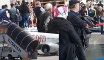 Batman uçak yolcuları perişan oldu!
