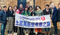 THY Bölge Müdürü Dilberoğlu, Mardin'de Çinli turistleri ağırladı