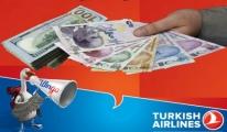 THY'de Dolar Yerine Türk Lirası Uygulaması Başladı.