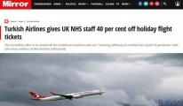 #THY'den İngiliz sağlık çalışanlarına yüzde 40 indirim