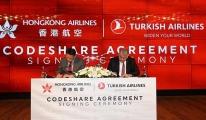 THY ile Hong Kong Hava Yolları'ndan yeni iş birliği