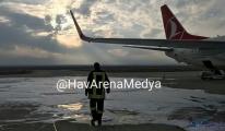 THY İstanbul uçağı büyük tehlike atlattı!
