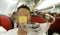 THY İstanbul uçağında oksijen maskesi düştü!