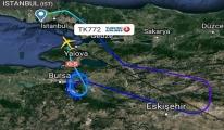 THY Kuveyt uçağı İstanbul'a döndü!