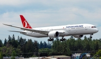 THY'nin 787-9 Dreamliner'ı ikinci test uçuşunu yaptı!