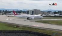 THY'nin 787 Dreamliner'ı görüntülendi!video