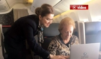 THY'nin  ABD Uçuşlarında Kabinde Ücretsiz Laptop