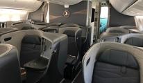 THY'nin B 787-9 'unun kabininden ilk görüntüler yayınlandı!