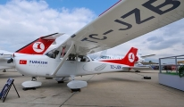 THY'nin düşen eğitim uçağı bulundu