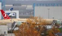 THY'nin ilk A350'si fabrikadan çıktı