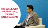 THY Özel Kalem Müdürü Tunç, zirve toplantısında