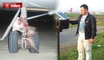 THY Pilotu: 'Martıya Çarptık'