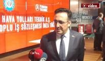 THY Teknik AŞ'de Toplu İş Sözleşmesi İmza Töreni!video